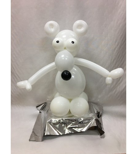 Safari Polar Bear Balloon Buddy