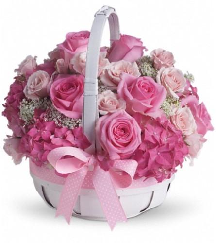 She's Lovely Basket  from Teleflora at Bow River Flower Atelier