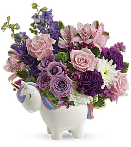 Teleflora's Magical Mood Unicorn Bouquet by Bow River Flower Atel
