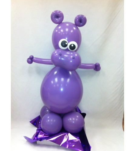 Hippo Balloon Buddy