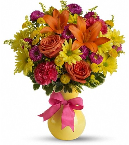 Teleflora's Hooray-Diant! by Bow River Flower Atelier