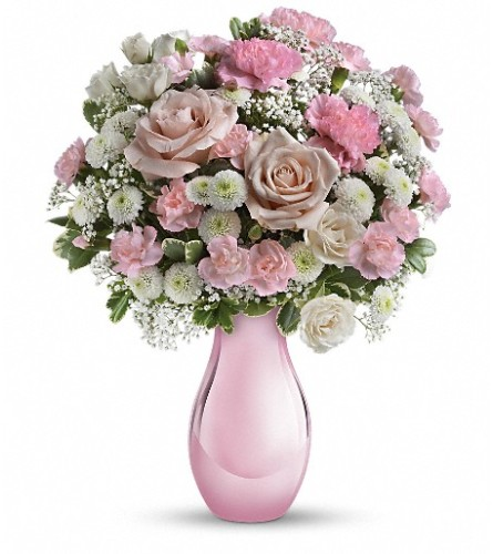 Teleflora's Radiant Reflections Bouquet at Bow River Flower Ateli