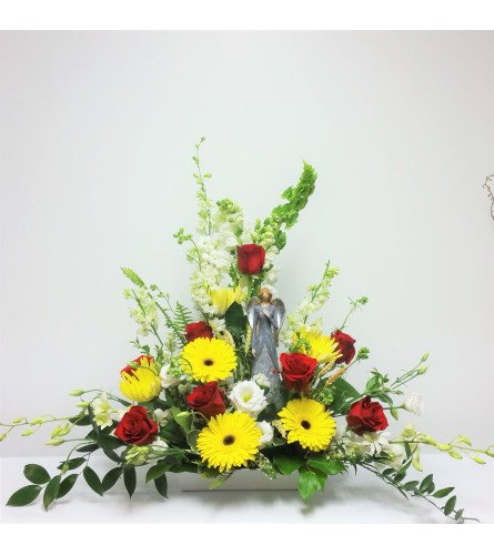 Red & Yellow Angelic Tribute