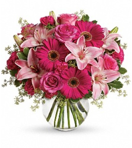 A Little Pink Me Up Bouquet - Teleflora at Bow River Flower Ateli