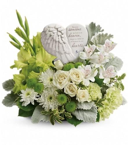 Heart's in Heaven - Teleflora at Bow River Flower Atelier