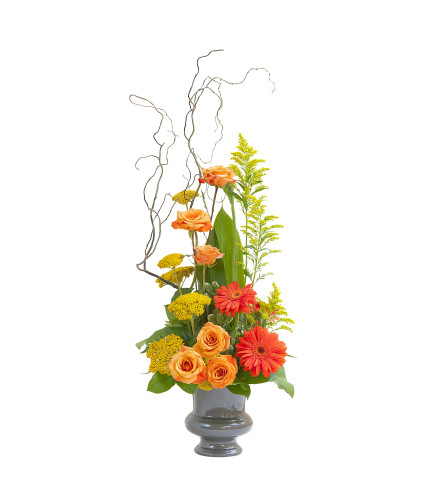 Heavenly Sunset Small Sympathy Urn