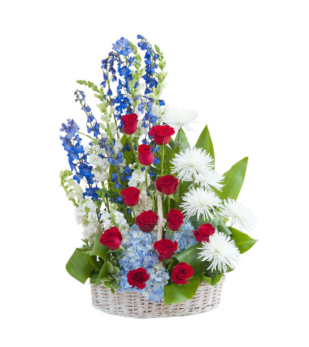 With Honor Basket Tribute