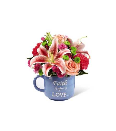 Be Blessed Mug Bouquet