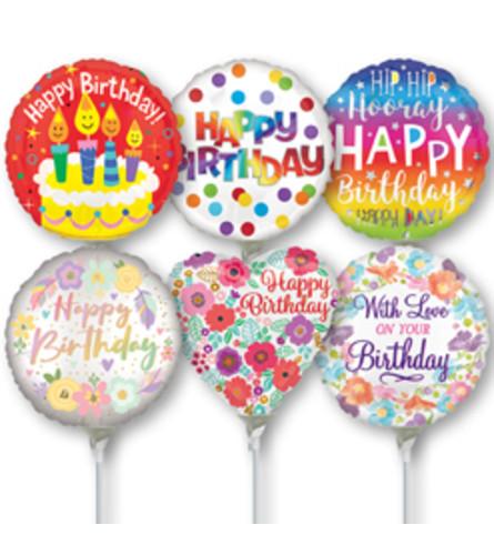 "4"" Air Filled Birthday"