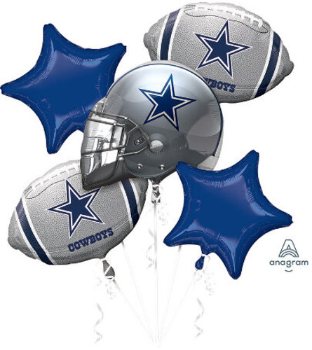 Cowboys Balloon Bouquet