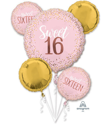 "Ellington's ""Sweet 16"" Balloon Bouq"