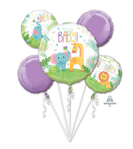 Ellington's Hello Baby Balloon Bouquet