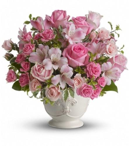 Pink Potpourri Bouquet by Teleflora