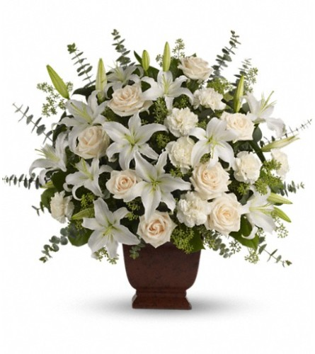 Teleflora's Loving Lilies and Roses Bouquet BRFA