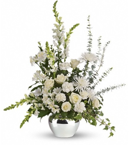 Serene Reflections Bouquet Bow River Flower Atelier