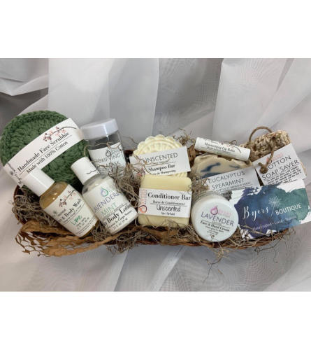 Byer's Boutique Luxury Spa Basket