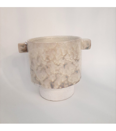 Mother of Pearl Style Pot