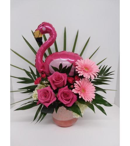 Flamingo Florals