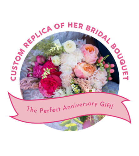 Custom Replica of Wedding Bouquet
