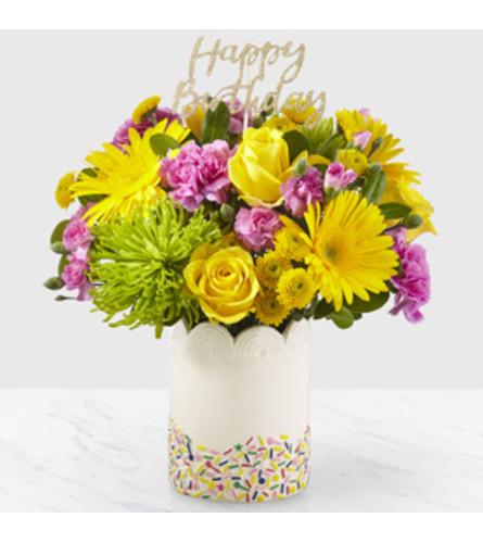 Happy Birthday Sprinkles Bouquet