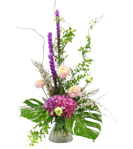 Talisman's Blushing Blooms Bouquet