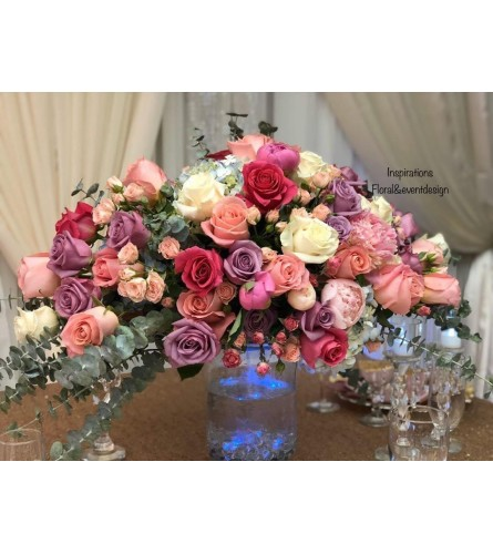 Rose and Roses Casket Spray