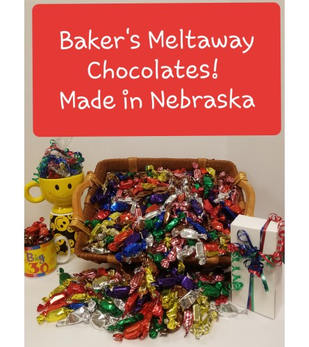 1lb Assorted Baker's Chocolate Meltaways