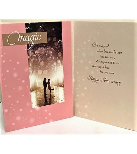 Anniversary Magic Card