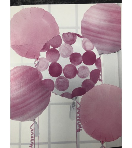 Balloon Bouquet Pink