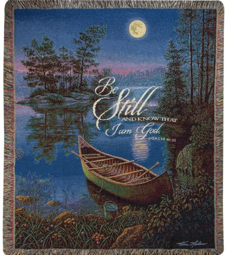 Moonlight Bay Tapestry Throw