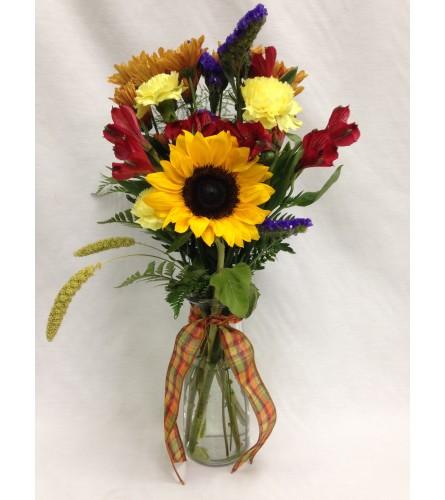 Forever Fall Vase Arrangement