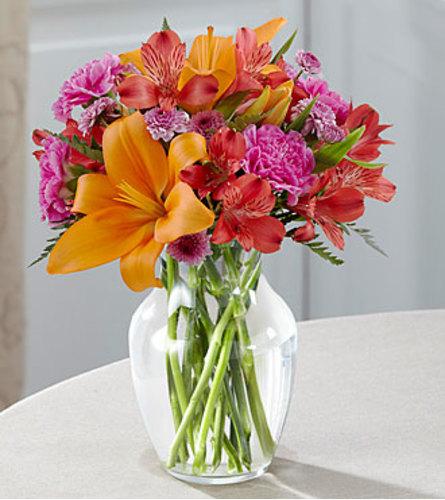 Light of My Life Bouquet Vase Arrangement