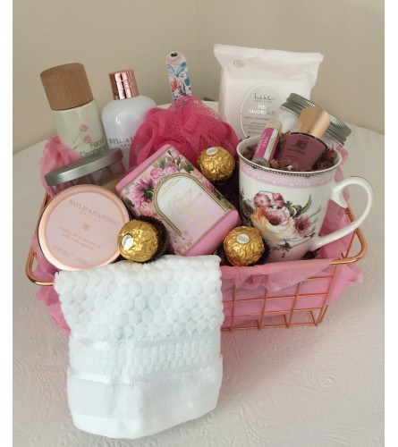 Caring Thoughts Gift Basket