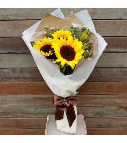Sun-Kissed Sunflowers