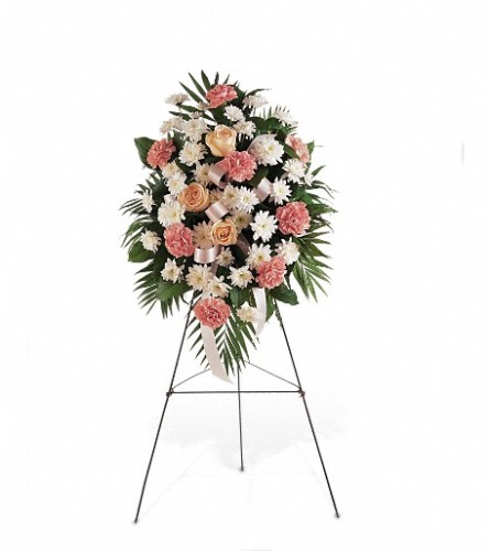 Gentle Thoughts Spray by Teleflora