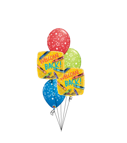 Back To School Classic Balloon Bouquet
