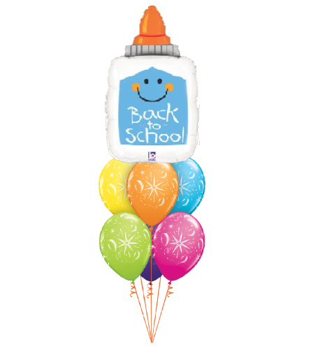 Back To School Glue Awesome Balloon Bouquet