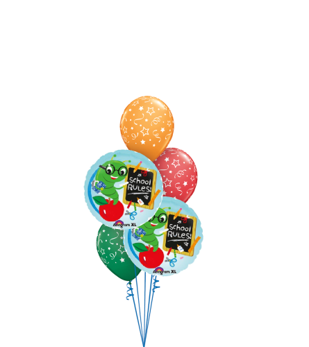 Bookworm Back To School Classic Balloon Bouquet