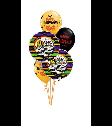 Halloween Bats Classic Balloon Bouquet