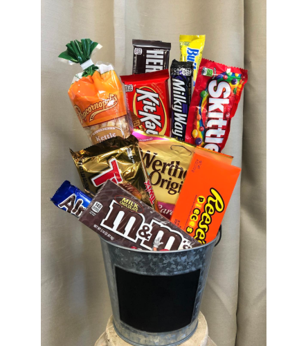 Bucket full of Candy