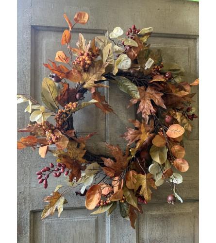 Varied Berry Fall Wreath