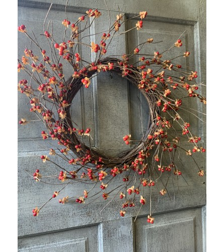 Berry Adorned Wreath
