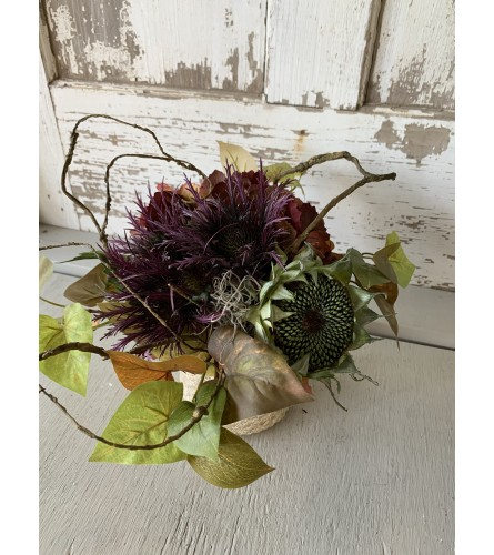 Thistle and Stick Basket