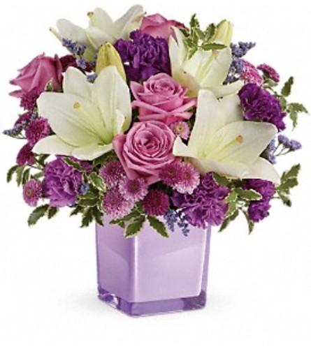 Pleasing Purple Bouquet TF