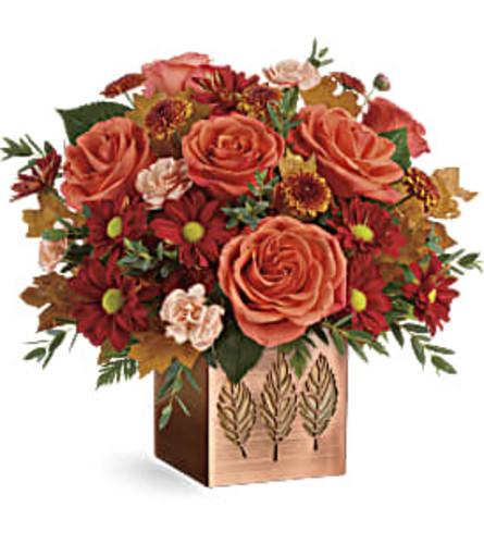 Teleflora Copper Petals Bouquet