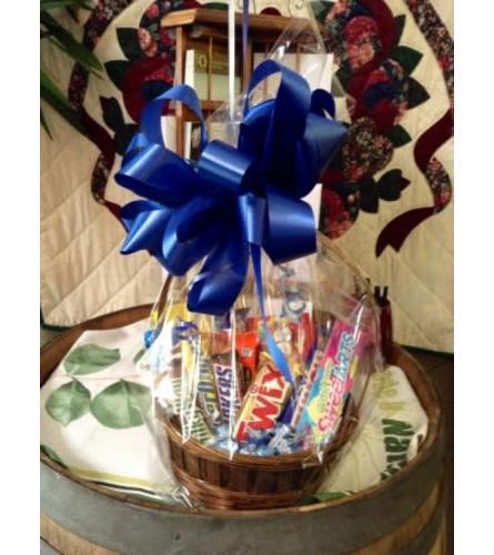 Sweet Candy Basket