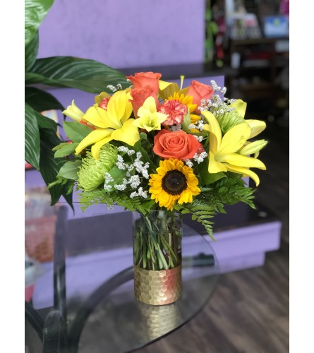 Be my Sunshine Bouquet