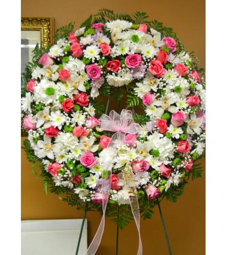 Everlasting Love Sympathy Wreath