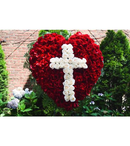 Prayers, Love and Peace Sympathy Arrangement