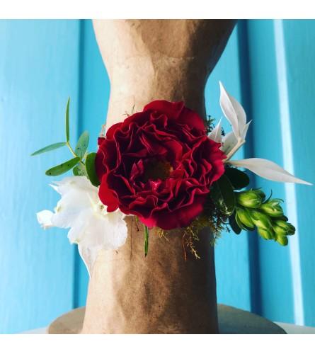 Royal Rose Corsage